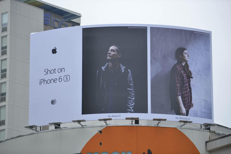 Franklin resident's iPhone shot ends up on billboards all over the world