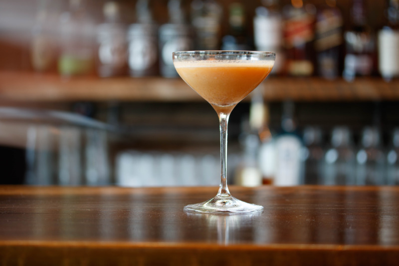 Pumpkin Pie Cocktail – the Norman Rockwell of martinis