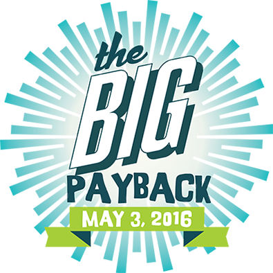 The Big Payback campaign for nonprofit groups opens at midnight