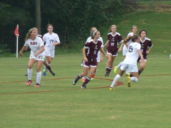 Big week for RHS volleyball, soccer teams