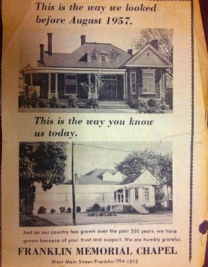 Old funeral home will be O'More Show House