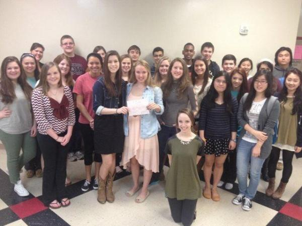 RHS HOSA raises $500 for Cystic Fibrosis Foundation; to compete in state competition