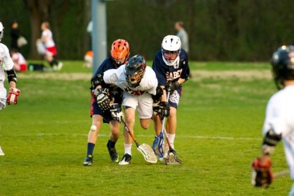 Lacrosse action pits Sunset against Woodland; BMS next up