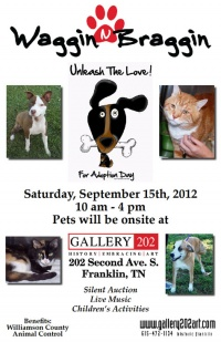 Pet adoption event to be held at Gallery 202