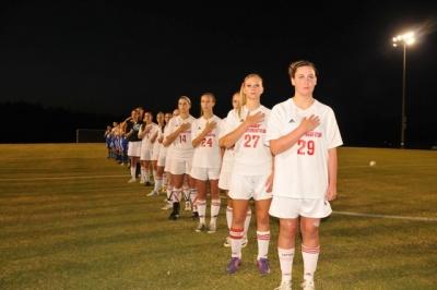 Page celebrates soccer seniors