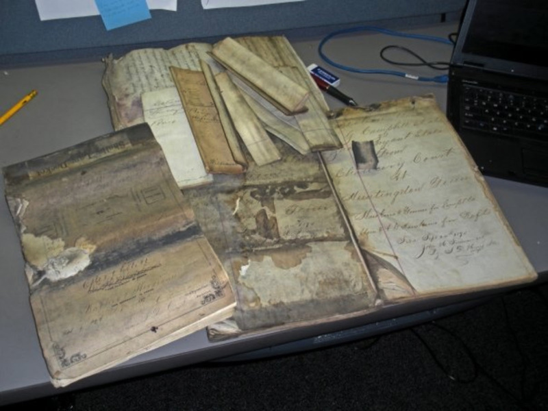 Archivists restore two centuries of state Supreme Court records
