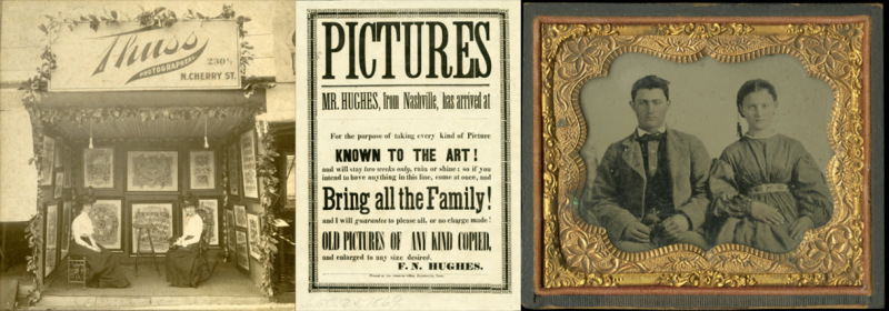State Library mounts exhibit of historic portrait photography