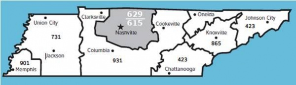 New area code for Williamson County - Brentwood Home Page